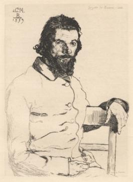 Portrait De Meryon,1853