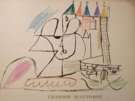 Par Robert Ganzo. Avec Vingt-Trois Lithographies Rehaussées De Couleurs De Gaston-Louis Roux.