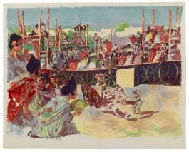 La Corrida: Une Corrida À La Campagne (A Country Bullfight), 1897