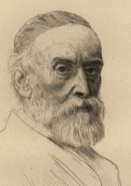 Portrait De G.f. Watts R.a., c. 1877-1890.