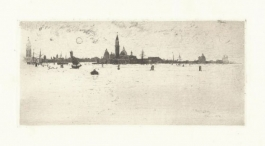 Venice From The Sea, 1883