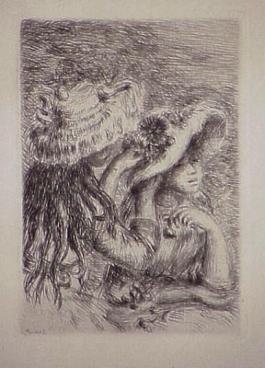 Le Chapeau Épinglé, In Renoir Et Ses Amis, 1894