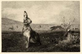 La Lièvre (The Hare), 1872