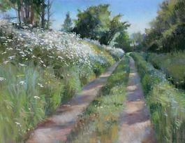 Pathway in May, Dordogne