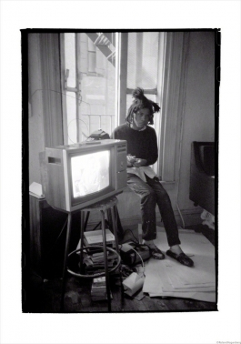 Basquiat TV, New York, 1983