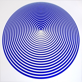 Orbiting In Blue