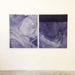 Turbulence Subsides (Diptych)