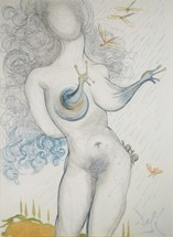 Nude with Snail Breasts