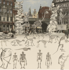 Ludgate Circus - Day of the Skeletons