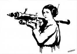 Princess Leia Bazooka Rocket