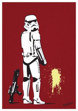 Pissing Stormtrooper