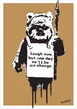 Laugh Now Ewok