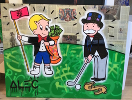 Richie & Monopoly Golfing