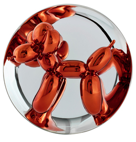 Balloon dog, orange