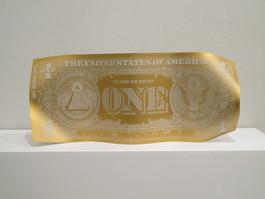 One dollar mat Gold