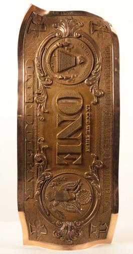 One dollar bronze