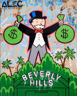 Monopoly Holding 2 & Bags Beverly Hills