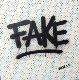 Fake (Monogramme blanc)