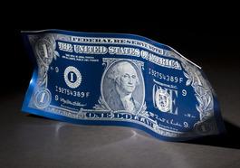One dollar blue - mat