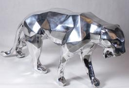 Wild panther, aluminium