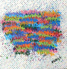 Louis le Vandal (Monogramme blanc), 2014