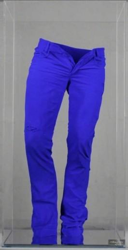 Wild jeans pigment blue