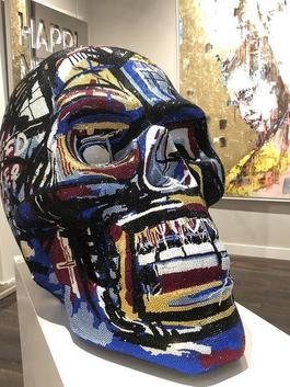 "SKULL large ""MASTERPIECE"" feat. Basquiat, 2019"