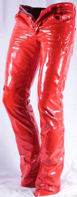 Wild Jeans, Red, XL