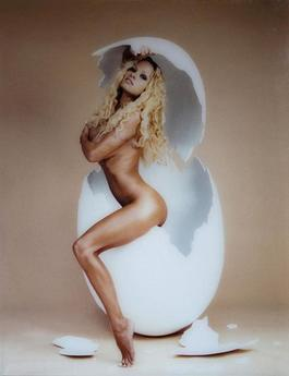Pamela Anderson : overeasy