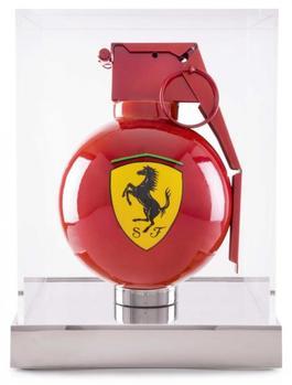 Pull the pin - Ferrari