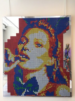 Kate Moss Rubikskub