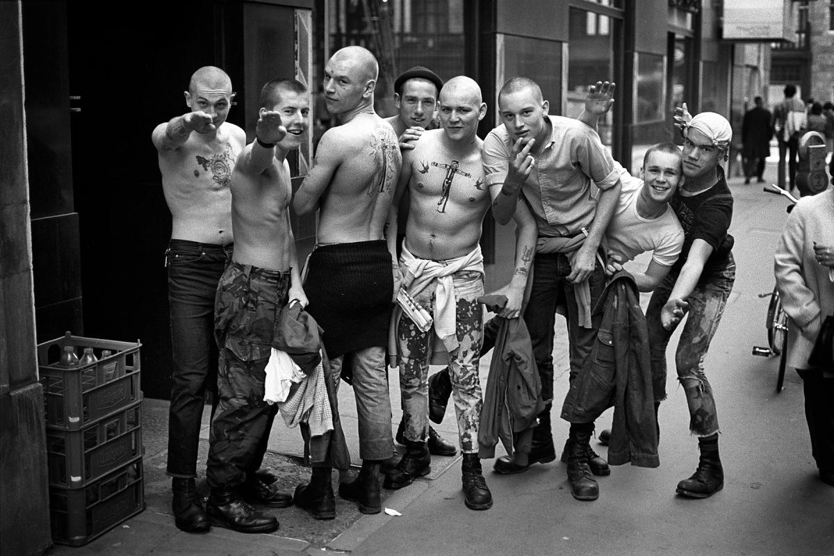 Derek Ridgers Skinheads