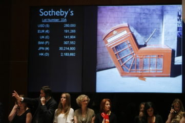 The Most Expensive Banksy Artworks Sold at Auctions
