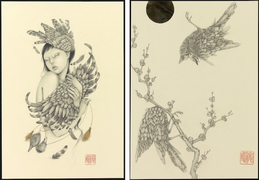 illustration of paper, illustration on board