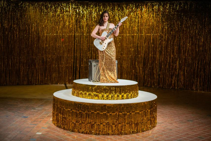 Icelandic Ragnar Kjartansson will use music in each piece, in search for a sign of interest from visitors.