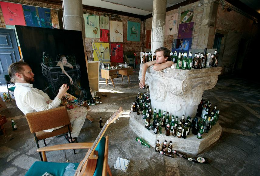 Icelandic Ragnar Kjartansson will use music in each piece, in search for a sign of interest from visitors. Some exhibits open 12 hours a day.