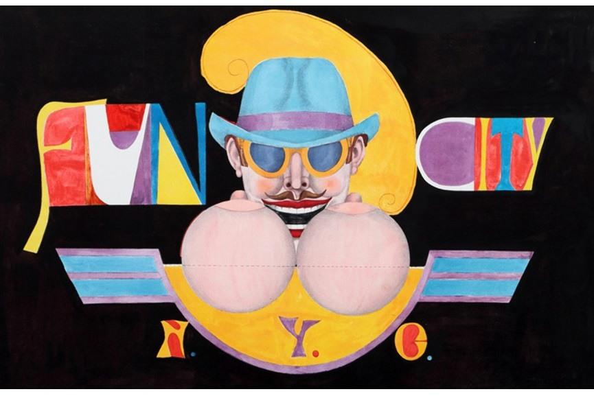 Roy lichtenstein inspired pop print