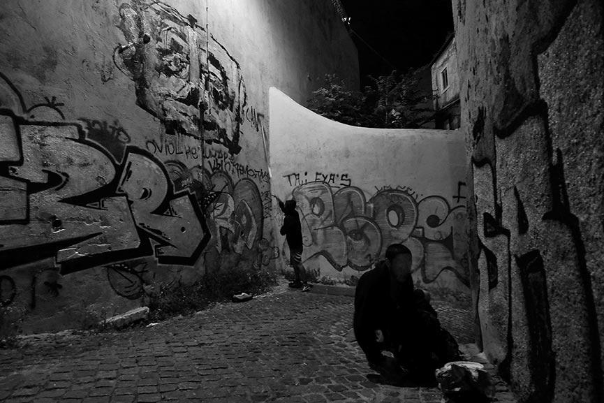 Cão Morto em Lisboa