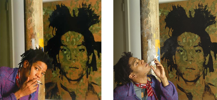 Jean-Michel Basquiat - photo by Tseng Kwong Chi