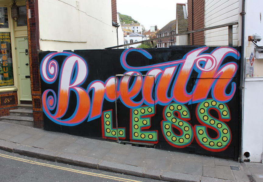 Ben EINE designs creative graffiti art letters