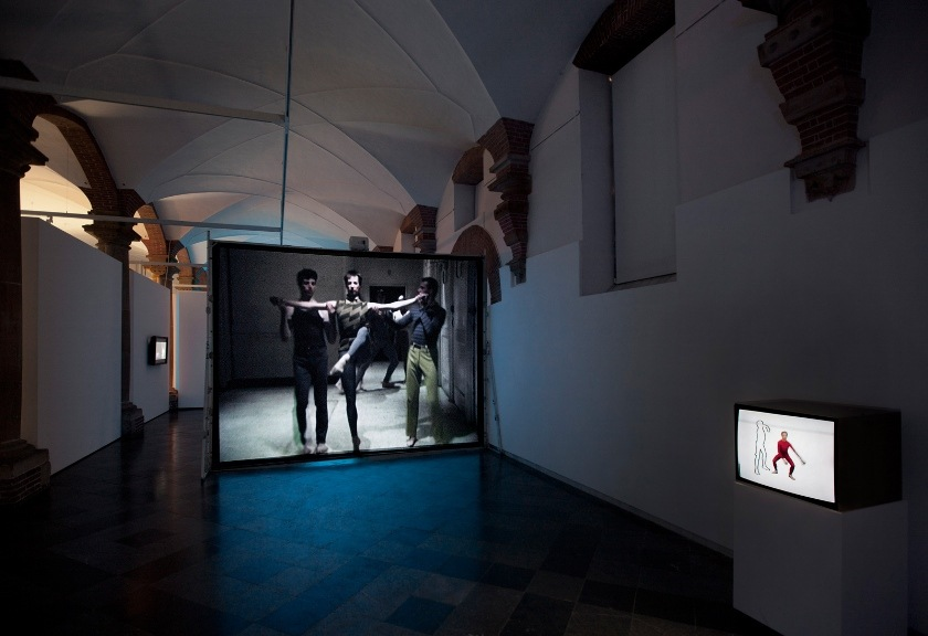 Charles Atlas - Discount Body Parts, 2012 - De Hallen, Haarlem, The Netherlands, Installation View (image for illustrative purposes only, courtesy of Vilma Gold)