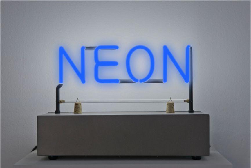 Joseph Kosuth - Neon, 1965