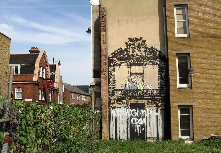 10 Banksy Street Art Pieces In London