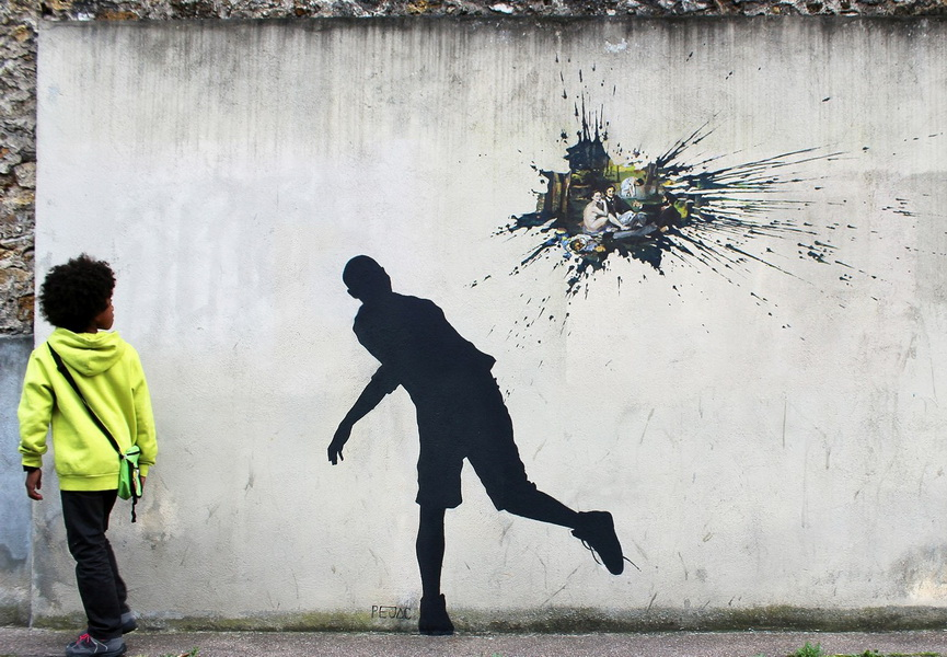 Pejac will probably one of the most famous Spanish contemporary artists in the modern art world