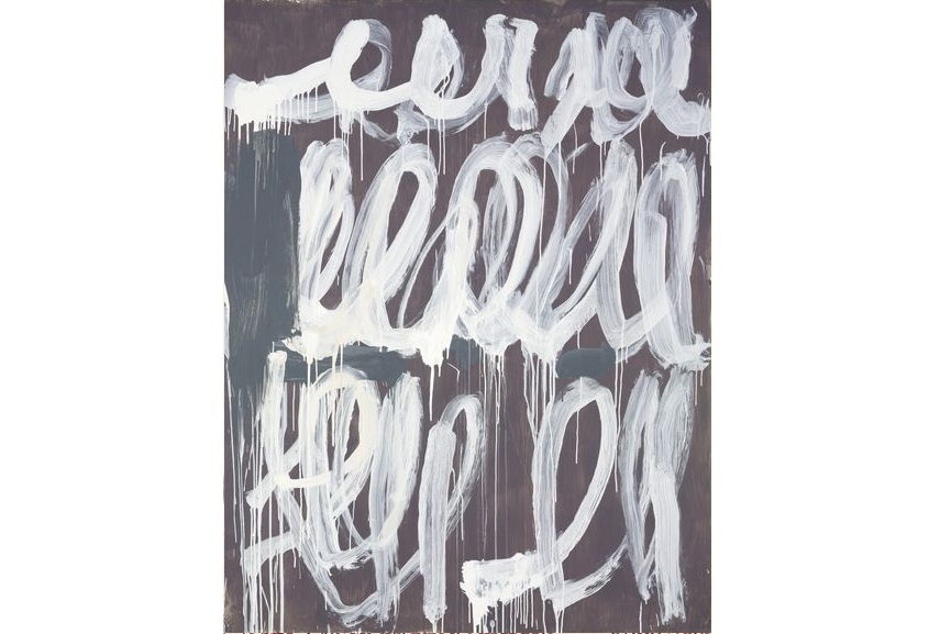 american robert rauchenberg modern museum virginia Cy Twombly Untitled 2006
