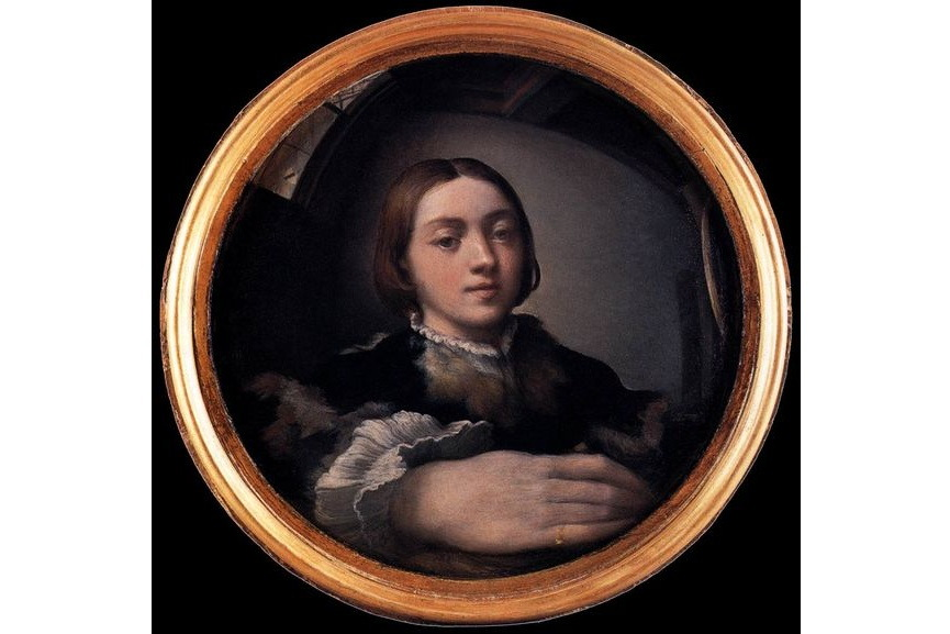 Famous Self Portraits that Changed the Face of Art which is the case of this painting by Parmigianino