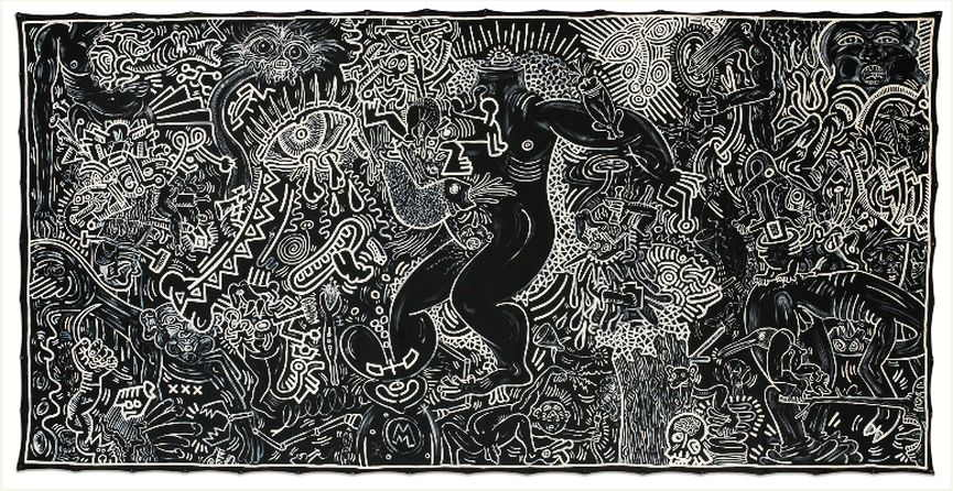 Keith Haring Untitled 1986
