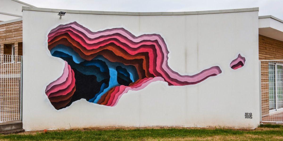 3d Wall Art Illusion Street Painting
