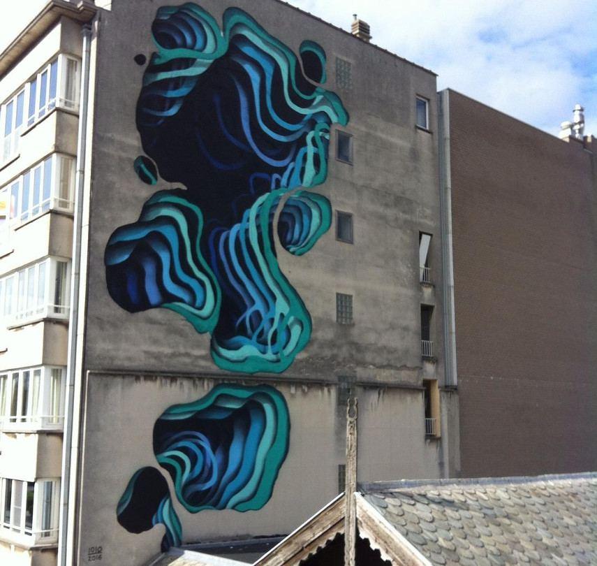 1010 - The Crystal Ship Festival mural