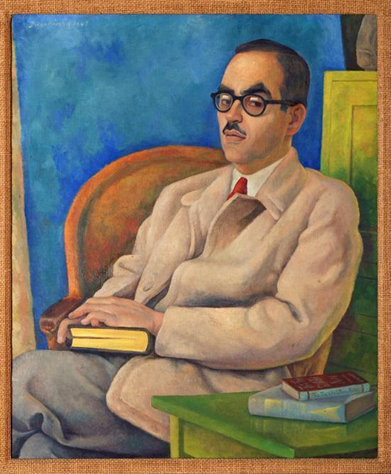 Diego Rivera-Retrato de Roberto Lopez-1947